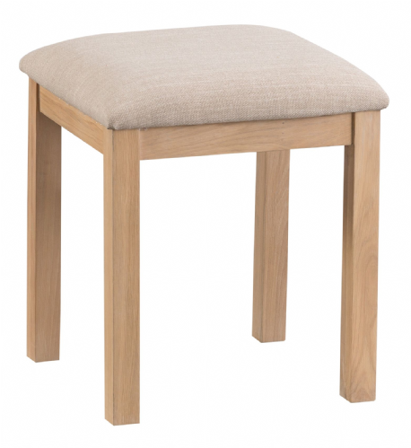 Lowestoft Oak Dressing Table Stool